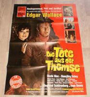A1 Filmplakat  DER TOTE AUS THEMSE,EDGAR  WALLACE ,Uschi Glas,H Felmy
