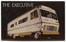 "Vintage Motor Homes Dealer's Ad Postcard: ""THE EXECUTIVE"" [Santa Ana, CA]"