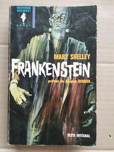 Mary Shelley - Frankenstein/ Bibliothèque Marabout Géant