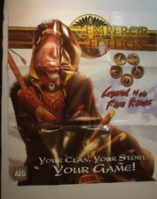 L5R Emperor Edition Promo Poster 35x31 Inch - Pin holes in corners