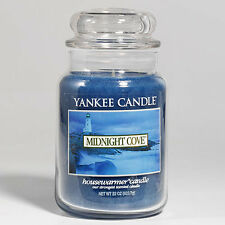 Yankee Candle - MIDNIGHT COVE - 22 oz - Great Fresh Summer Scent!! - RARE!!!