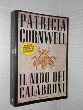 IL NIDO DEI CALABRONI Patricia Cornwell Mondadori Bestsellers 1998 romanzo libro