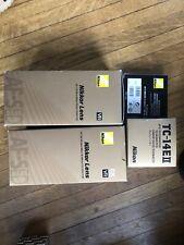 Nikon Boxes - 18-200mm, 105mm f2.8 VR, TC-14 II