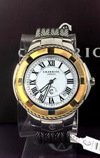 Charriol Celtic 43mm Stainless Steel Auto Watch two-tone case cable bracelet