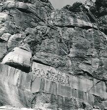 IRAN c. 1960 - Inscription de Behistun Triomphe de Darius Ier - Div 10230