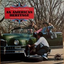 The Boys From Indiana - An American Heritage LP Vinyl 1980 Bluegrass Record