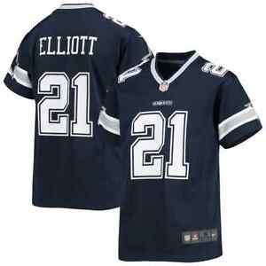 Ezekiel Elliott Dallas Cowboys Nike Youth Player Game Jersey - Navy Large
