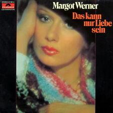 """12"""" Margot Werner Das kann nur Liebe sein (So ein Herz)  70`s Polydor"""