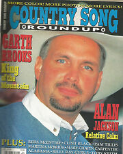 Garth Brooks Covers Country Song Roundup Magazine April 1996 Reba McEntire
