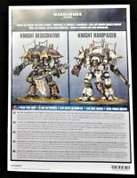 Warhammer 40K Chaos Space Marines KNIGHT DESECRATOR Dark Mechanicum