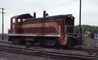 BOSTON & MAINE Railroad Locomotive B&M 1220 Original 1980 Photo Slide