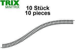 Minitrix / Trix N 14901 Flexibles Gleis gerade, Flexgleis 730 mm (10 Stück) NEU