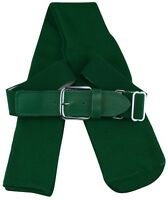 TCK Sports Baseball/Softball Belt Socks Combo Set Dark Green Small FAST SHIPPING