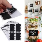36pcs Blackboard Chalkboard Chalk Board Stickers Decals Craft Kitchen Jar Labels