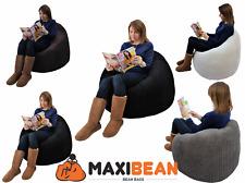 Large Jumbo Cord Bean Bag Gamer Beanbag Adult Gaming Pod Big Arm Chair