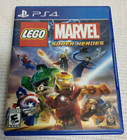 LEGO Marvel Super Heroes  Sony PlayStation 4  2013  Complete