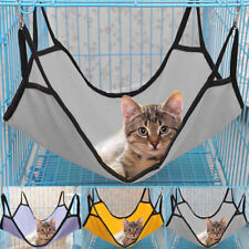 Pet Hammock Cat Puppy Dog Soft Fabric Hanging Swing Bed Toys Cage Sleeping Nest