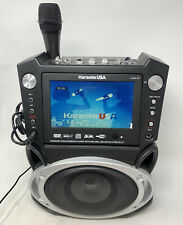 "New listing Karaoke Usa Gf829 Dvd/Cdg/Mp3G 7"" Tft Color Screen Karaoke System 1 Microphone"