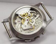 display GLASS BACK for Poljot chronograph 3017 ussr watch Seconda