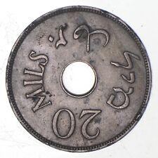 Better Date - 1927 Palestine 20 Mils *255