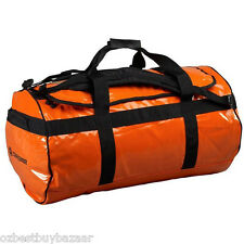 Caribee Kokoda 90L waterproof duffel large bag ORANGE