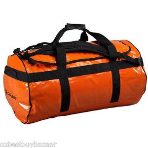 Caribee Kokoda 90L waterproof duffel large bag ORANGE