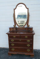 Solid Wood Dresser Bathroom Vanity with Mirror by Lexington 1561