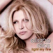 Eliane Elias-Light My Fire CD 12 tracks Latin Jazz Nuovo