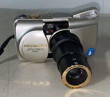 OLYMPUS MJU ZOOM 115 DELUXE 35mm Point & Shoot Film Camera Japan