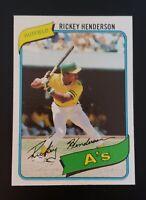 1980 Topps #482 Rickey Henderson NM-MT+ 🔥🔥🔥 Oakland Athletics HOF
