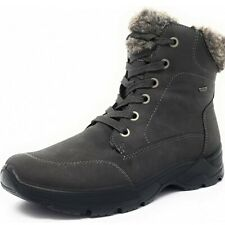 JENNY COL-ST GRAU-STEIN WOMEN'S BOOT WITH LACES WITH FUR GREY