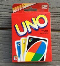 "MATTEL .CLASSIC CARD GAME "" UNO "" CARD GAME ITEM # 42003 NIB"