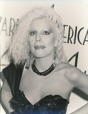 DALE BOZZIO - ORIGINAL 1985 CANDID PHOTO - AMA AWARDS - MISSING PERSONS