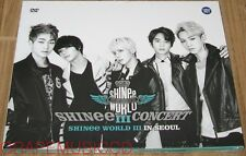 SHINee THE 3RD CONCERT WORLD III IN SEOUL LIVE 2 DVD + PHOTOBOOK & FOLDED POSTER