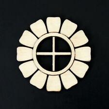 10 Wooden Fairy Door Flower Window Embellishments Craft Shapes Blank Accessory