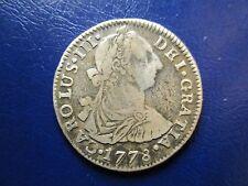 POTOSI CARLOS III 2 REALES 1778 PR