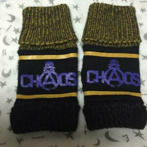 Vivienne Westwood gloves black yellow