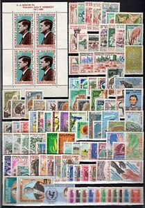 DJ146514/ MAURITANIA / YEARS 1960 - 1972 MINT MNH MODERN LOT – CV 155 $