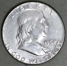 1962 Franklin Half Dollar Silver Coin