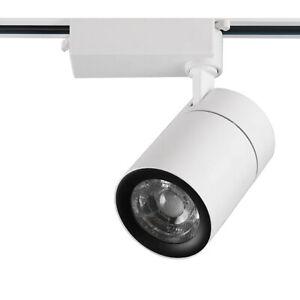 LED COB Ceiling Light Fixtures 3-line Track Rail Picture Lamp Bedroom Spotlight
