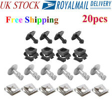 20pcs Undertray Guard Engine Under Cover Fixing Clips Screw For AUDI A4 A6 A8 GJ