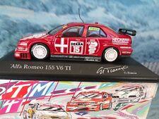 1/43 Minichamps   Alfa romeo 155  V6  TI DTM 1994 Francia