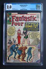 FANTASTIC FOUR #19 1st Nate Richards as RAMA-TUT aka Kang 1963 Lee KIRBY CGC 2.0
