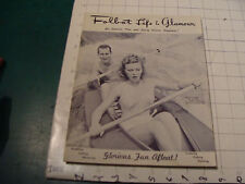 vintage FOLBOT LIFE & GLAMOUR 1951 Paddling Sailing Motoring Fishing Catalog 32p