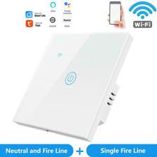 Smart Home WIFI Lichtschalter Touch Wandschalter Tuya Fernbedienung Alexa Google