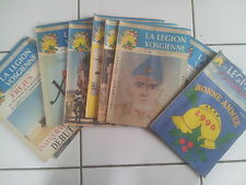 lot 10 journaux ' la légion Vosgienne ' de 1995 / 1996 rares!!!