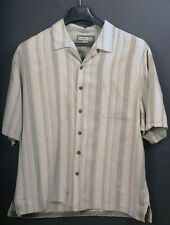 Jamaica Jaxx XXL Mellow Green/Tan Textured shirt. A
