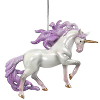 Trail of Painted Ponies Unicorn Magic Hanging Ornament, White NEW