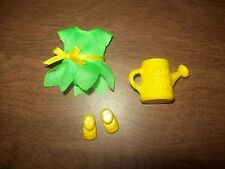 Barbie Kelly Sunflower Outfit Shoes & Watering Can For Kelly Barbie & Friends