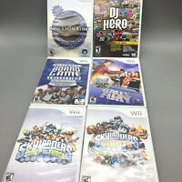 Nintendo Wii Games CDs Lot Of 6 - Fast Free Shipping - C10